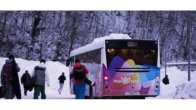 SKYBUS - автобусный маршрут на Красную Поляну